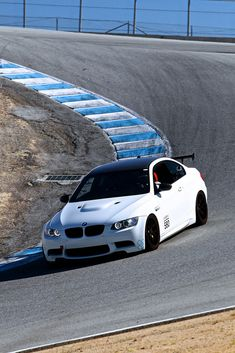 BMW M3 GTS. I am not a fan of huge wings, although I understand it is necessary in a racing setting.