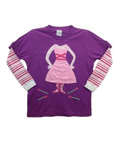 Morfs Sesame Street Long Sleeve Top Shirt Abby Cadabby Purple 3-6 6-12 12-18 Mo