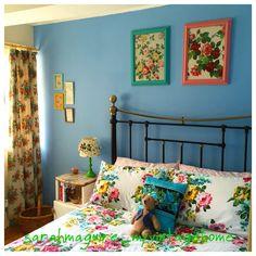 room color vintage cottage chic