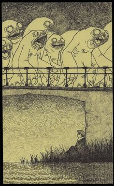 Don Kenn - Drawings Done on Post-It Notes