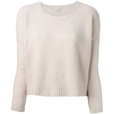 Pinko cropped sweater (8.470 RUB) ❤ liked on Polyvore featuring tops, sweaters, shirts, blusas, cropped long sleeve shirt, pink top, crop shirts, long sleeve crop sweater et long sleeve sweaters
