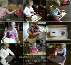Montessori toddler activities -- great links to multiple other sites, activities/ ideas