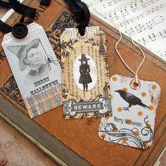 Halloween gift tags.