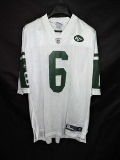3c5819f74aa ... Size 48 Ladies New York Jets 6 Mark Sanchez Nike White Stitched NFL  Limited Jersey New York Jets ...