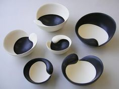 A Plate a Day: Yuri Takemura....like glaze variations- lovely!