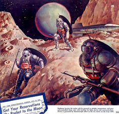 1946 ... moon-monsters! by x-ray delta one, via Flickr
