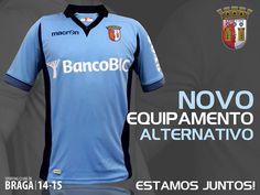 SC Braga 2014-15 Macron Away Kit