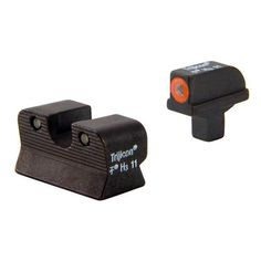 Colt Officers-A1 HD Night Sight Set - Orange Front Outline