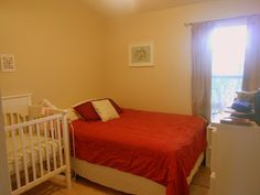 Baby Guest Room | This was our guest room, but now it will be baby room and then when ...