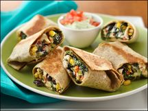 Hungry Girl Southwestern Egg Rolls.  Love these!  Only 5 Weight Watchers Points Plus!