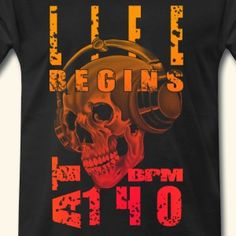 Life begins - Männer Premium T-Shirt