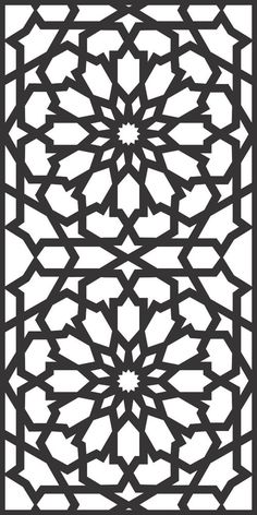 DXF CDR File For CNC Plasma Laser Cut Doors all design good quality and tested at cnc) - Laser Cut Patterns, Stencil Patterns, Stencil Designs, Pattern Art, Laser Cut Panels, Laser Cut Metal, Laser Cutting, Islamic Art Pattern, Arabic Pattern