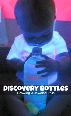 Discovery bottles- safe exploration for babies and toddlers