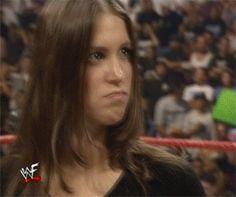 Stephanie McMahon slaps Joey Abs - WWF/WWE RAW September 21 1999