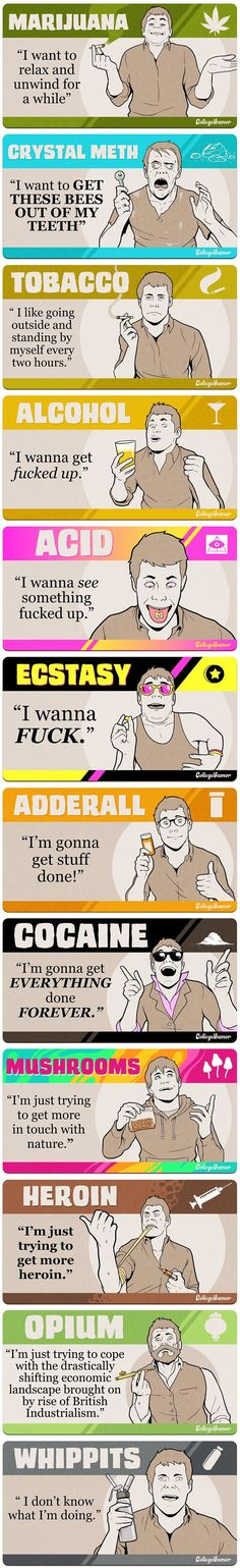 Funny pictures about How drugs usually work. Oh, and cool pics about How drugs usually work. Also, How drugs usually work. Funny Quotes, Funny Memes, It's Funny, Drug Memes, Epic Quotes, Daily Funny, Ganja, I Laughed, Jokes