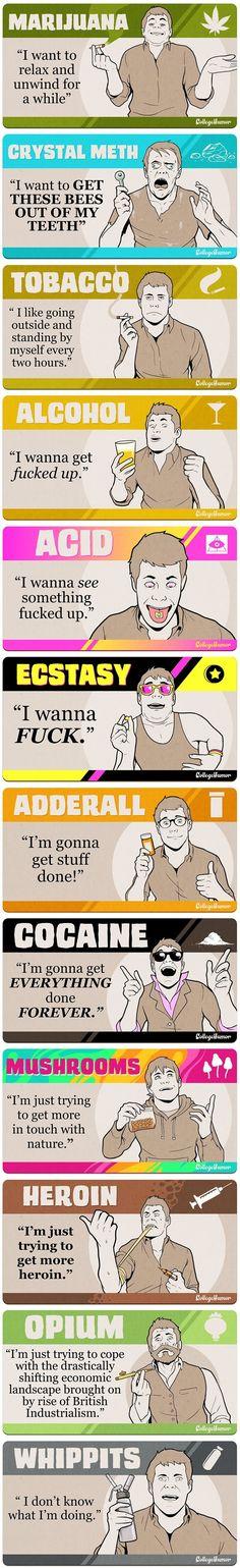 Drugs- College Humor