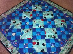Mini-quilt made for my daughter Picnic Blanket, Outdoor Blanket, Quilt Making, To My Daughter, Mini, Picnic Quilt
