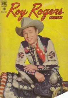 ROY ROGERS - :: 70 ANOS DE GIBIS - gibi Dell - 03 - 1948 - Página Luis Peix - RJ