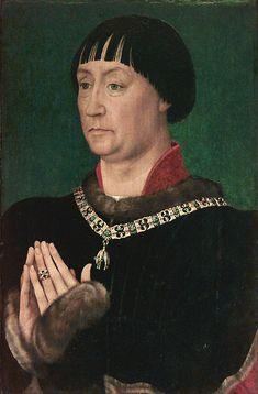 Portrait of Jean le Belliqueux, 1451  Rogier van der Weyden