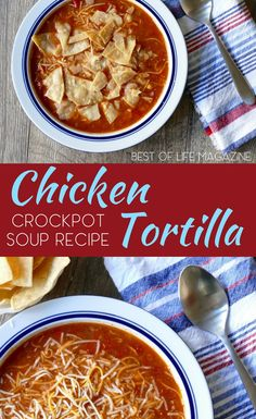 Toss this easy Crock Pot chicken tortilla soup in the slow cooker for an easy meal any night of the week. It easily converts to a ketogenic recipe for a low carb diet, too! Healthy Crock Pot Recipes   Crock Pot Soup Recipes   Crock Pot Tortilla Soup Recipes   Crock Pot Chicken Recipes   Easy Crock Pot Recipes   Easy Slow Cooker Recipes   Slow Cooker Tortilla Soup   Slow Cooker Chicken Recipes   Healthy Slow Cooker Recipes   Easy Slow Cooker Soup Recipes  via @AmyBarseghian