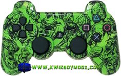 Nuclear Zombie DualShock 3 PS3 Controller