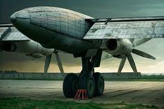 Tupolev 142 'Bear' on Behance