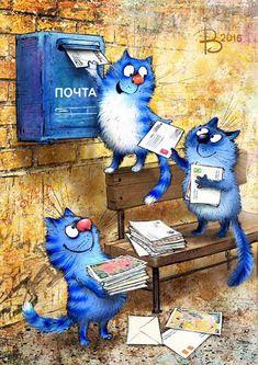 Художник-иллюстратор Ирина Зенюк.Большая корреспонденция