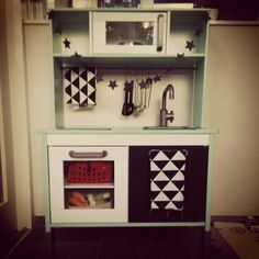 Ikea kinder keuken make-over
