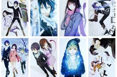 Camplayco Noragami Yato Posters Placard Cosplay (a set of 8) -- You can find more details by visiting the image link.