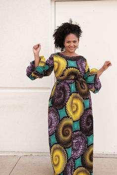 Hello here are some lovely ankara gowns with styles. They can make your appearance in any occasion look stylish. African Maxi Dresses, African Fashion Ankara, Latest African Fashion Dresses, African Attire, African Wear, African Ankara Styles, Ankara Gown Styles, Ankara Gowns, Ankara Dress