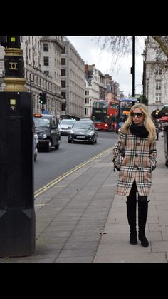 Giorgia Marin photographed while walking in Westminster, London.