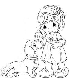 dachshund coloring page - Dachshund Coloring Pages Print