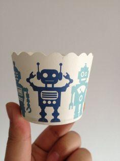 ROBOT Paper Baking Cups
