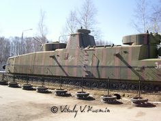 TRAINS | Request] Russian armored trains