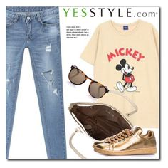"""YESSTYLE.com"" by monmondefou ❤ liked on Polyvore featuring BBORAM, DANI LOVE, ANS and Linda Farrow"
