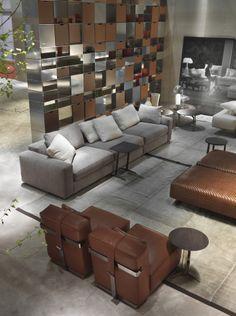 FLEXFORM   BEAUTY sofa area.