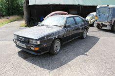 1985 Audi quattro Restoration project