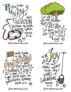 Scriptures about Joy