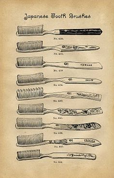 Toothbrushes!
