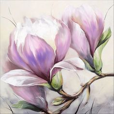 obi 565 × 565 Pixel - Holiday World Silk Painting, Watercolour Painting, Watercolor Flowers, Art Floral, Magnolia Flower, Pictures To Paint, Botanical Art, Painting Inspiration, Flower Art
