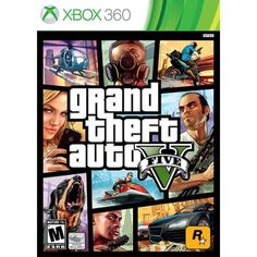 #walmart Grand Theft Auto V (Xbox 360) - $29.99 (save 40%) #grandtheftautov #rockstargames #videogames
