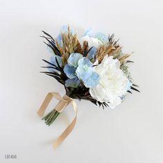 Silk Wedding Bouquet Bohemian Beach Wedding Boho Garden
