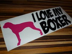 Nálepka | Sticker #ilovemyboxer #lovemyboxer #sticker #carsticker #germanboxer #nemeckyboxer #boxerlove #nalepka #obojkyblackberry #rezananalepka #cuttedsticker @esjedna