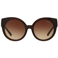 Michael Kors Adelaide Round Sunglasses (1.035 RON) ❤ liked on Polyvore featuring accessories, eyewear, sunglasses, rounded sunglasses, retro sunglasses, michael kors sunglasses, oversized round glasses and michael kors glasses