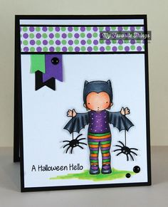 Batty About You, Darling Dots, Trick or Treat, Centerpieces Spooky Window Die-namics, Fishtail Flags STAX Die-namics, Fishtail Flags Layers STAX Die-namics - Michele Boyer #mftstamps