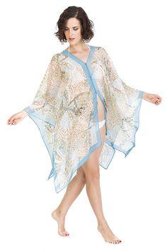 7f615791fb Cover Ups for Swimwear Women by Melifluos Summer Beach Wear Swimsuit Dress  Skirt (Bird Navy) at Amazon Women's Clothing store:
