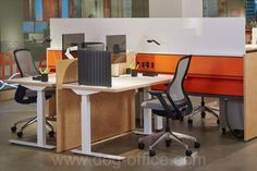 The Knoll Media Bank provides users with a photography resource including installation images, renderings and videos – start designing & planning furniture for your home or office space. Adjustable Height Table, The Office, Office Ideas, Showroom, Bar Stools, Corner Desk, Workspaces, Work Stations, Fence