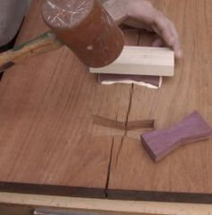 Butterfly Key Joinery - Part IV / Rockler How-to