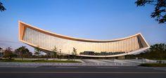national library of sejong city, south korea by S.A.M.O.O.  - designboom   architecture & design magazine