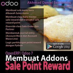 OpenERP/ Odoo 7: Membuat Addons Sale Point Reward